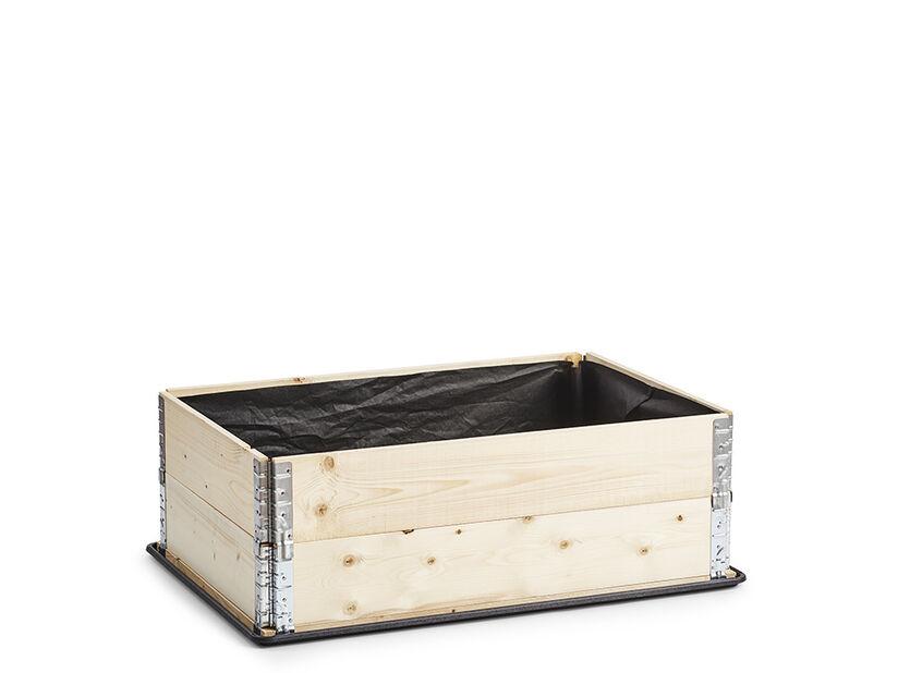 Katekangas istutuslaatikolle, Pituus 120 cm, Musta