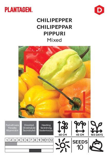 Meksikolainen pippuri, sekoites