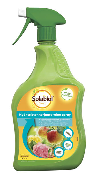 Hyönteisten torjunta-aine Solabiol, 750 ml
