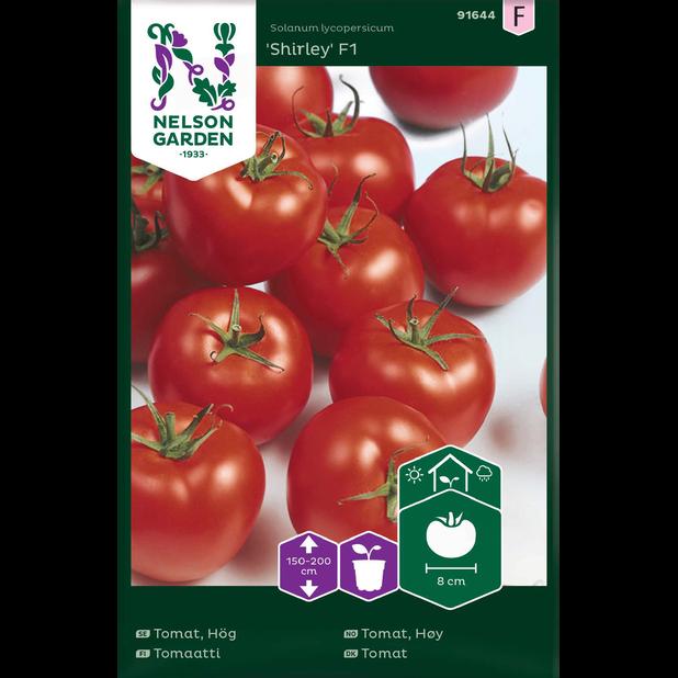 Tomaatti 'Shirley', Monivärinen