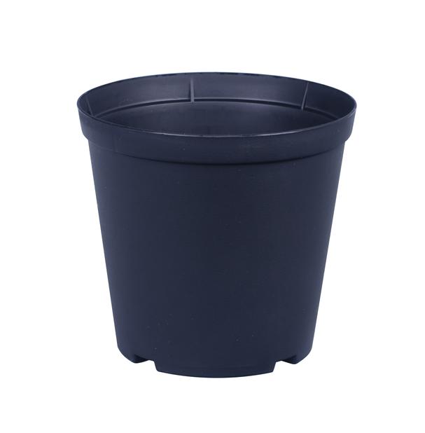 Istutusruukku Floria, Ø17 cm, Musta