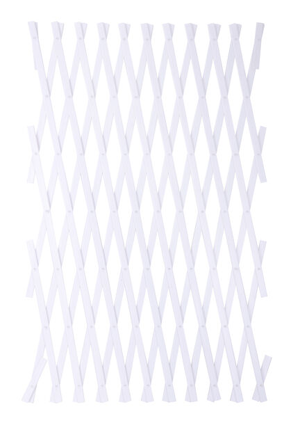 Muovisäleikkö, Korkeus 250 cm, Valkoinen