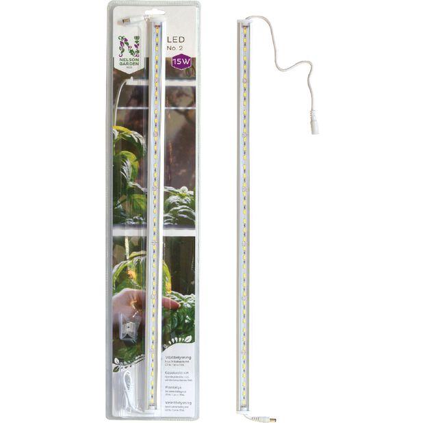 Kasvivalaisin LED No.2 60cm 15W, Pituus 60 cm