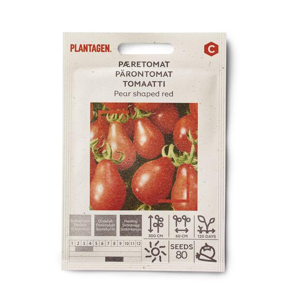 Tomaatti 'Pear shaped red'