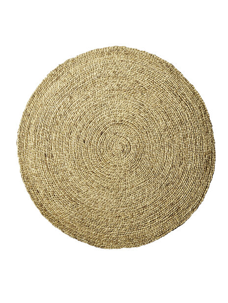 Pyöreä matto, Ø120 cm, Beige