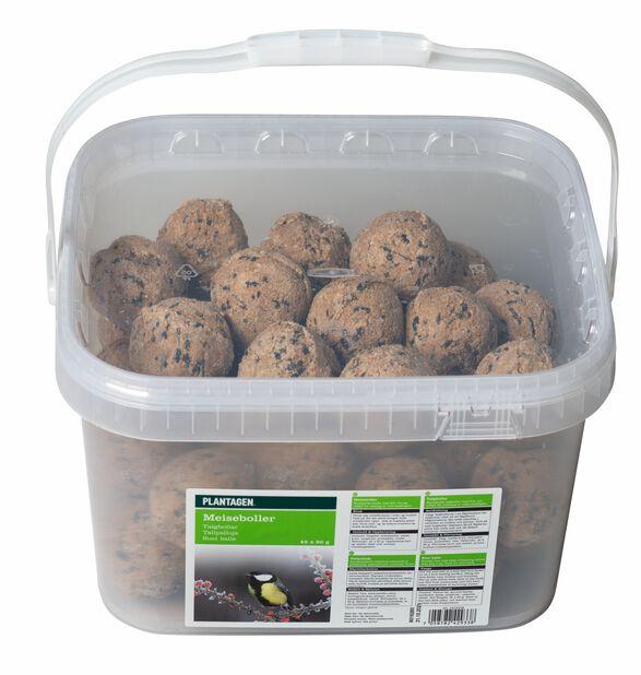 Linnunruokinta talipallot ämpärissä, 45 kpl