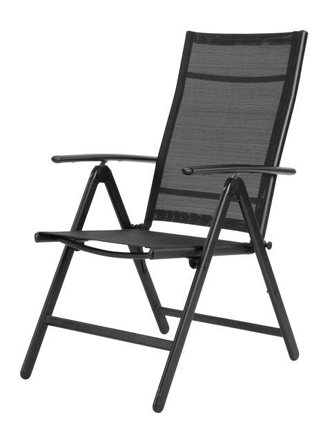Tuoli Blackstone, Korkeus 102 cm, Musta