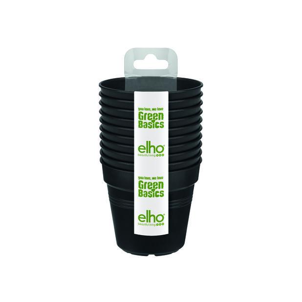 Taimiruukut Green Basics 10 kpl/pakk., 10 kpl, Musta