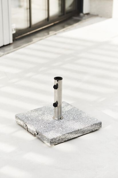Aurinkovarjon jalka Stone, 30 kg, Harmaa