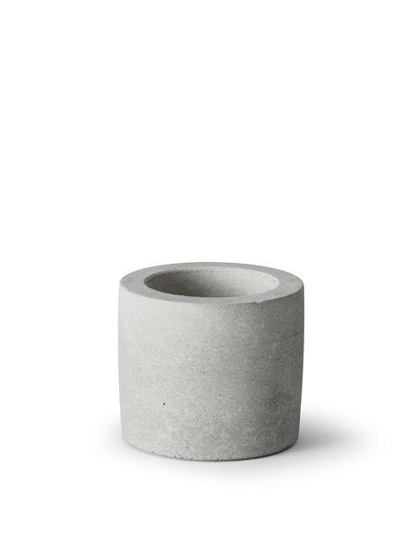 Kynttiläalusta, Ø7 cm, Harmaa