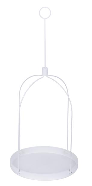 Riippuva alusta Grenna, Ø30 cm, Valkoinen