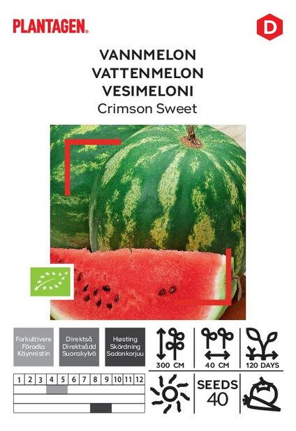 Vesimeloni 'Crimson Sweet'