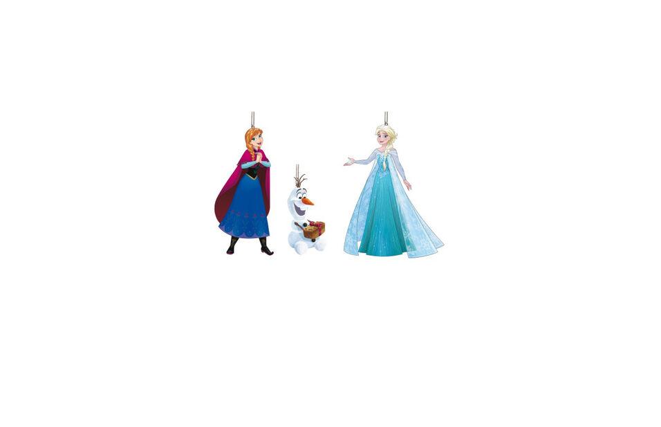 Joulukoriste Disney-hahmot Frozen, Korkeus 8 cm, Sininen