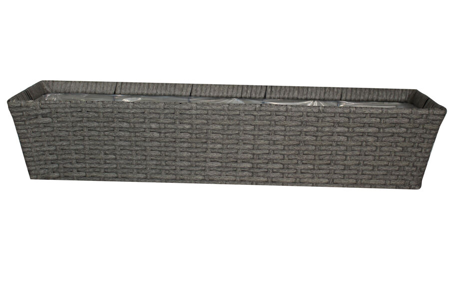 Parvekelaatikko, Pituus 72 cm, Harmaa