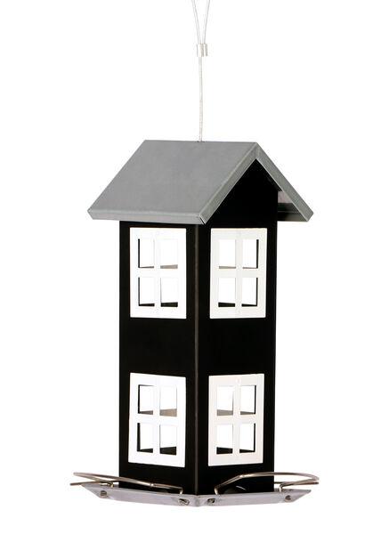 Ruokinta-automaatti, Korkeus 20 cm, Musta