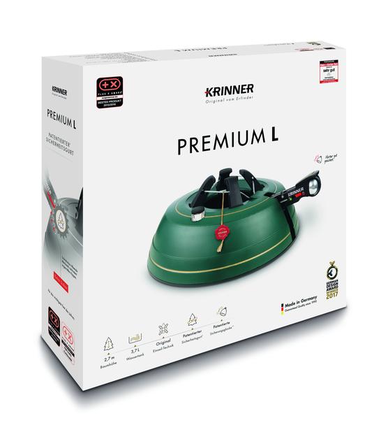 Kuusenjalka Krinner Premium L, 3.7 L, Vihreä