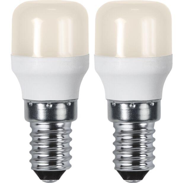 LED-lamput E14 2-pakk, 2 kpl, Valkoinen