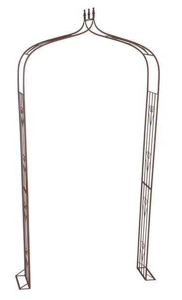 Ruusuportti, Korkeus 240 cm, Ruoste
