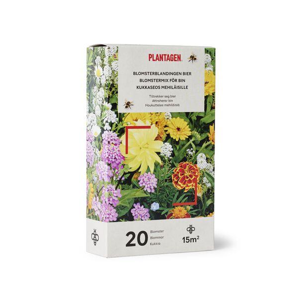 Kukkaseos mehiläisille, 15 m2, Monivärinen