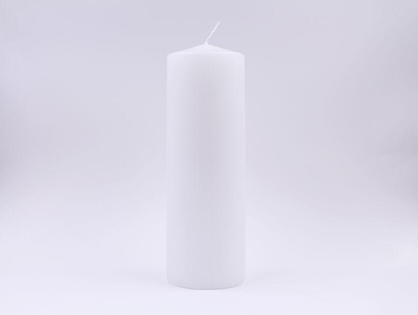 Pöytäkynttilä, Korkeus 28 cm, Valkoinen