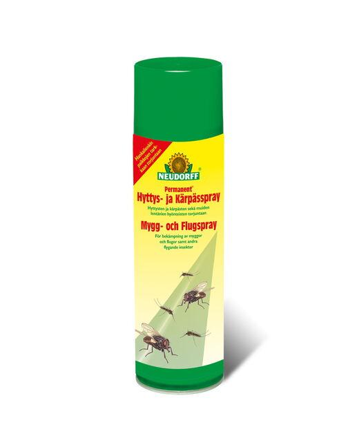 Permanent Hyttys- ja kärpässpray, 500 ml