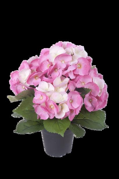 Hortensia K35 cm, vaaleanpunainen, tekokasvi