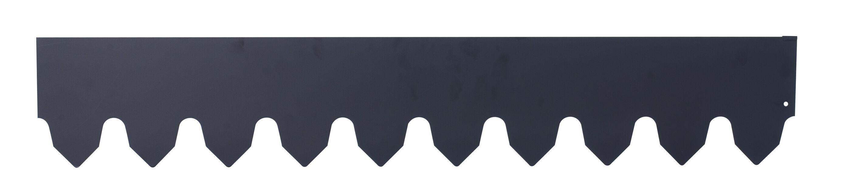Nurmireunanauha, Pituus 400 cm, Musta