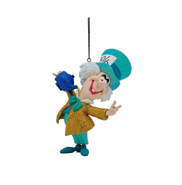 Joulukoriste Disneyn Liisa Ihmemaassa -elokuvan Hatuntekijä, Korkeus 8.5 cm, Monivärinen