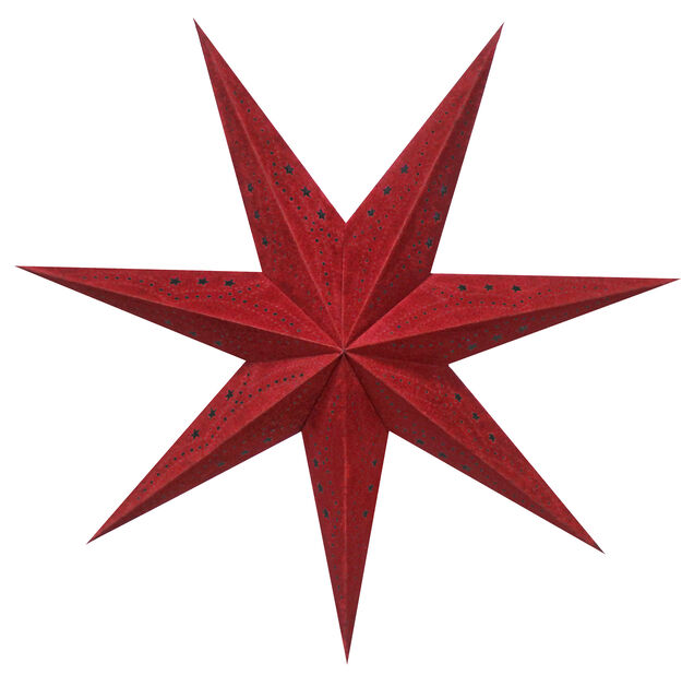 Adventtitähti Sofie, Pituus 60 cm, Punainen