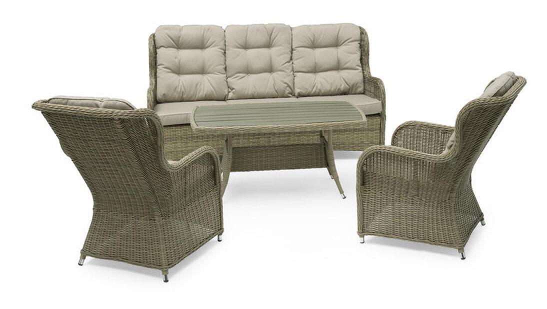 Lounge-setti Lotus, 5 istumapaikkaa, Beige