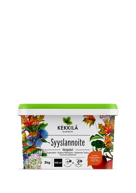 Syyslannoite, 3 kg, Ruskea