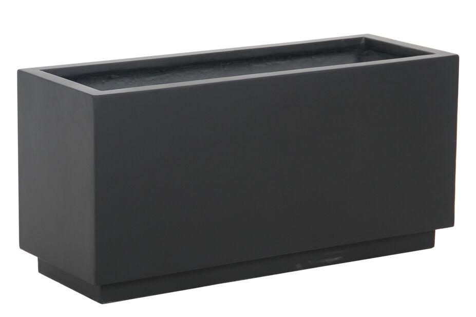 Istutuslaatikko Nova, Pituus 76 cm, Musta