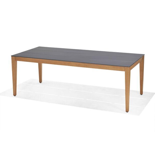 ANTIBES TABLE, Pituus 215 cm, Musta