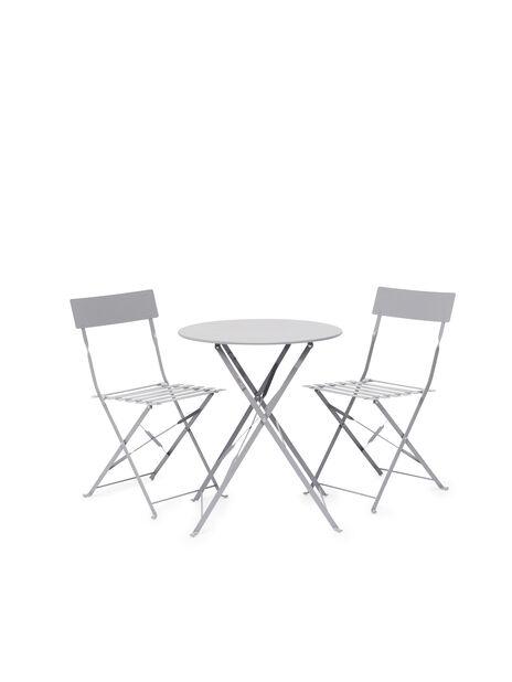 Café-ryhmä Molly 1+2, 2 istumapaikkaa, Harmaa