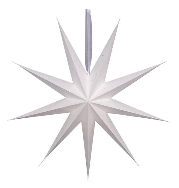 Koristetähti Wilma , Pituus 100 cm, Valkoinen