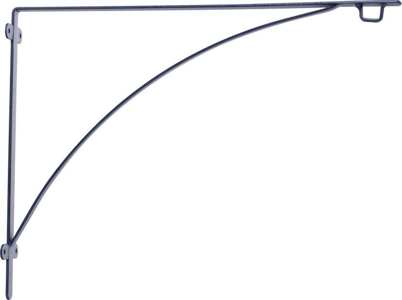Kannattimet Aldora, Pituus 40 cm, Musta