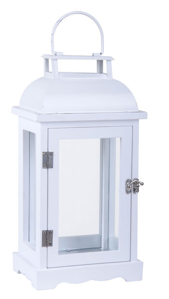 Lyhty Viktor 33,5 cm valkoinen