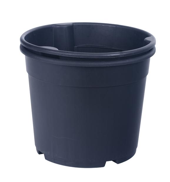 Perunaruukku, Ø30 cm, Musta