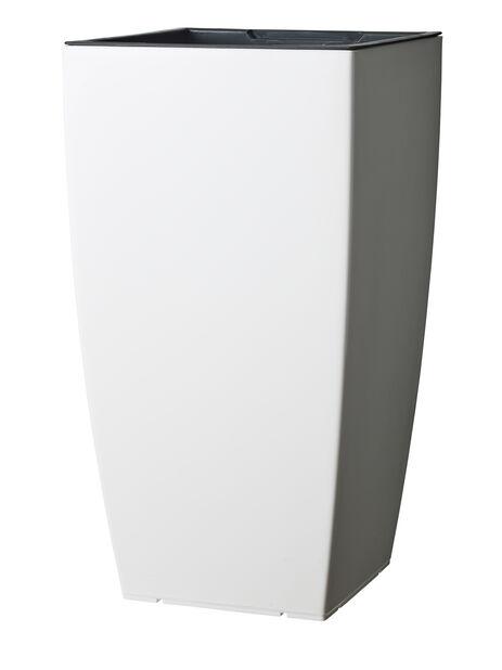 Altakasteluruukku Leva, Ø31 cm, Valkoinen