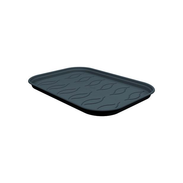 Alusvati Green Basics Grow Tray Saucer M, Pituus 25 cm, Musta