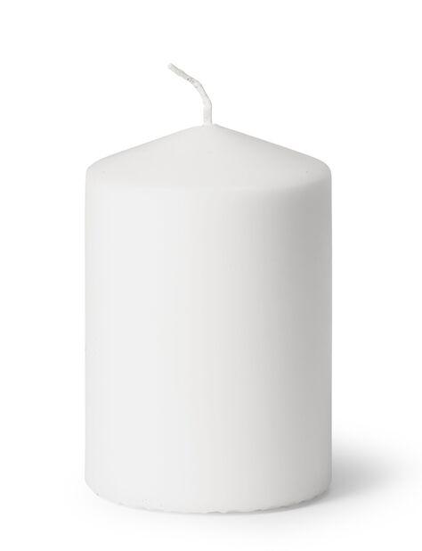 Pöytäkynttilä, Korkeus 10 cm, Valkoinen