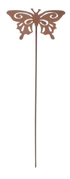 Koristetikku perhonen, Pituus 50 cm, Ruoste