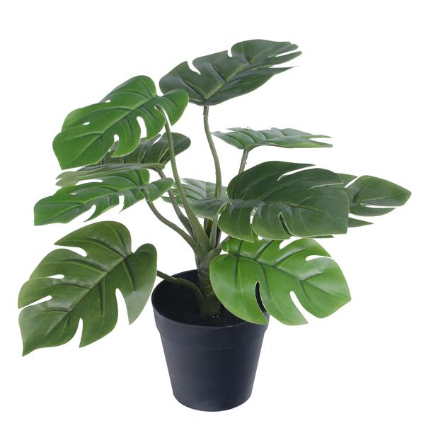 Vihreä tekokasvi, Korkeus 30 cm, Vihreä