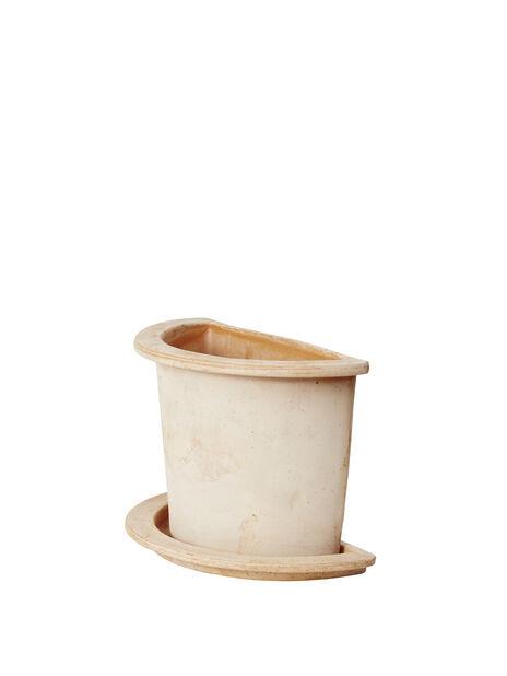 Ruukku Olea puolikas, Korkeus 25 cm, Terrakotta