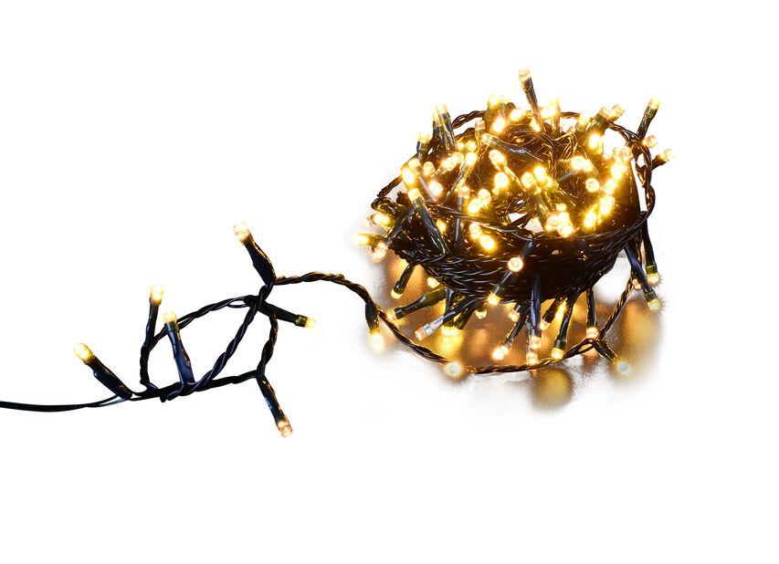 Valosarja Ola 480 LED-lampulla, 48 m, Musta