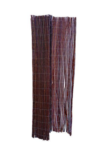 Näkösuoja Pil, Korkeus 170 cm, Ruskea