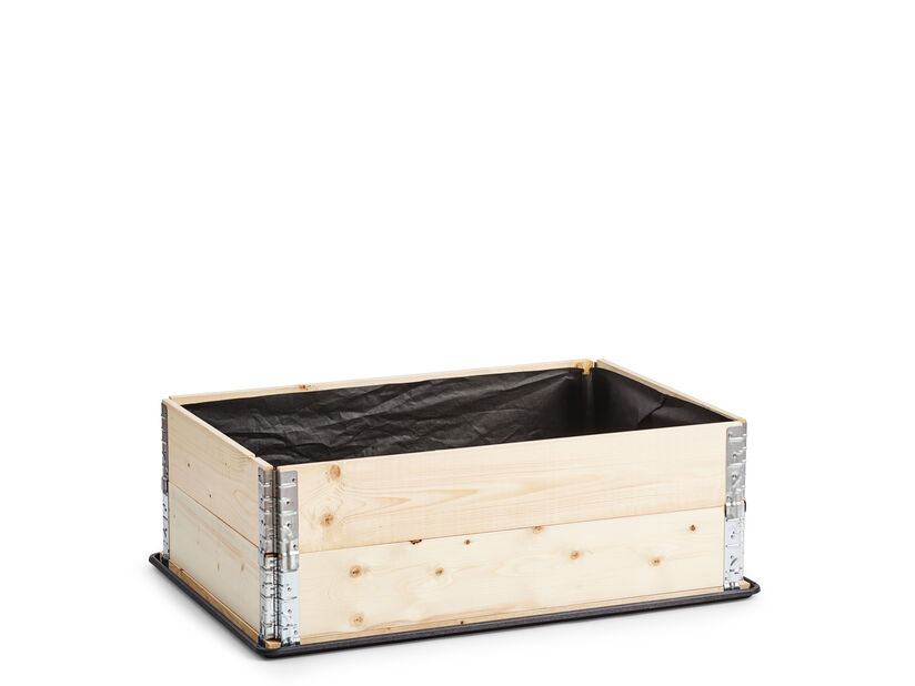 Lavakauluskangas, Pituus 120 cm, Musta