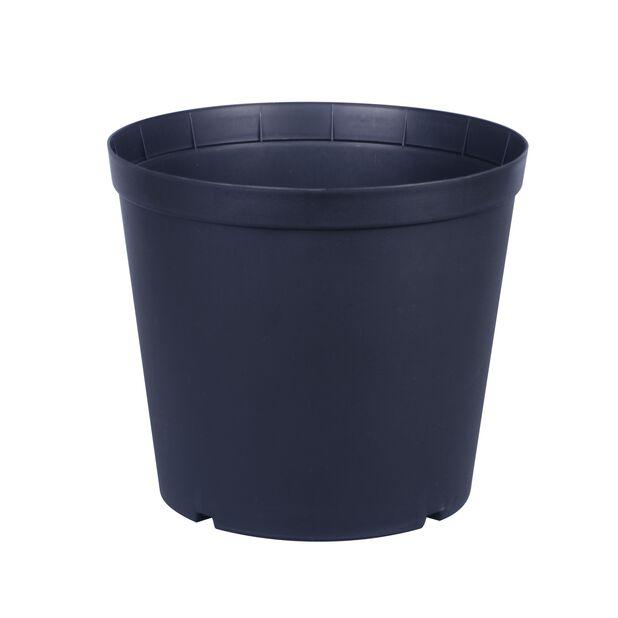 Istutusruukku Floria, Ø27 cm, Musta