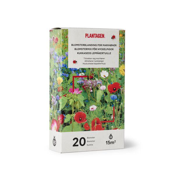 Kukkaseos leppäkertuille, 15 m2, Monivärinen
