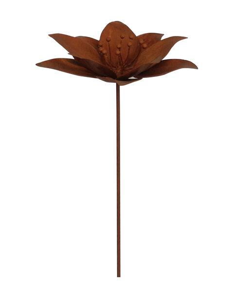 Kukka-koristetikku, Korkeus 95 cm, Ruoste
